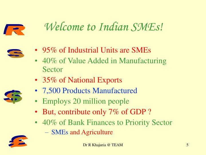 Welcome to Indian SMEs!