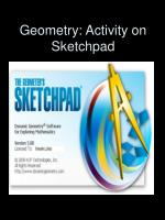geometry activity on sketchpad