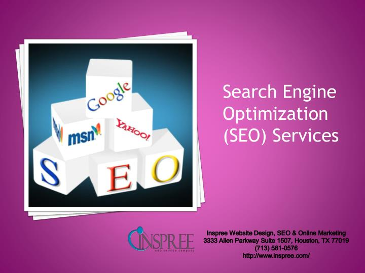 Search Engine Optimization (SEO) Services