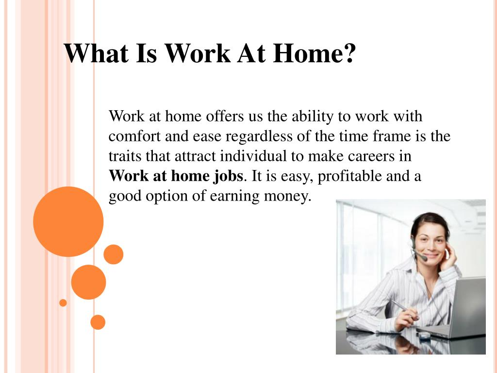 What Is Work At Home?