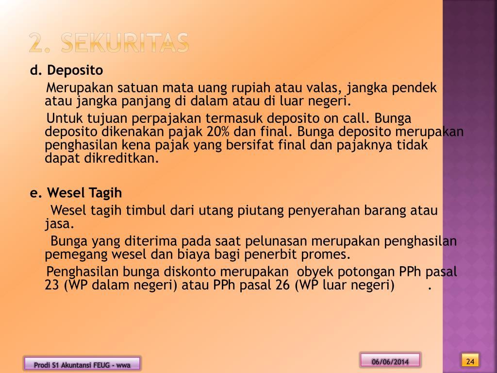 PPT - AKUNTANSI PAJAK PowerPoint Presentation, free
