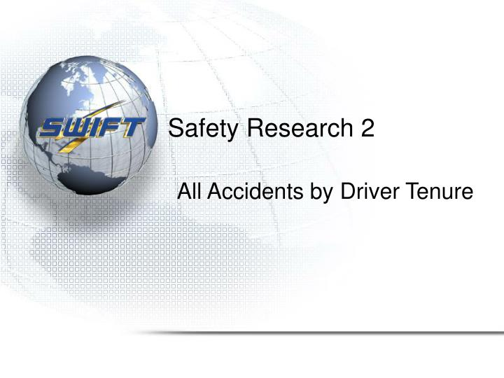Safety Research 2