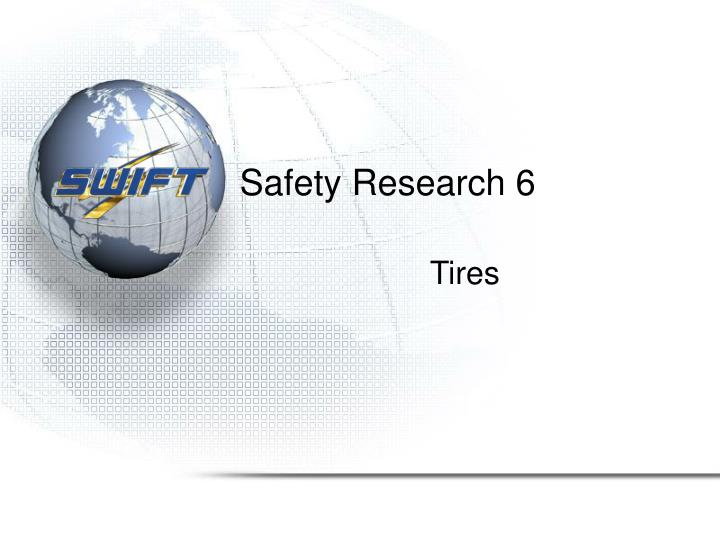 Safety Research 6
