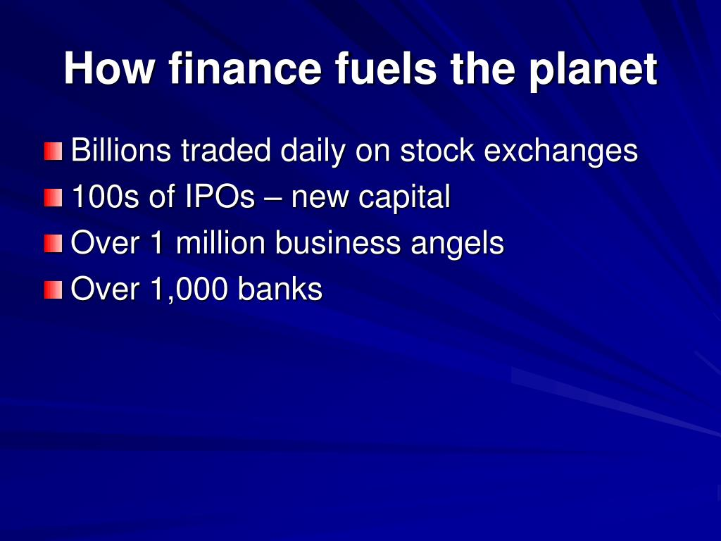 How finance fuels the planet