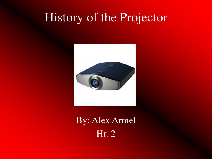 history of the projector n.