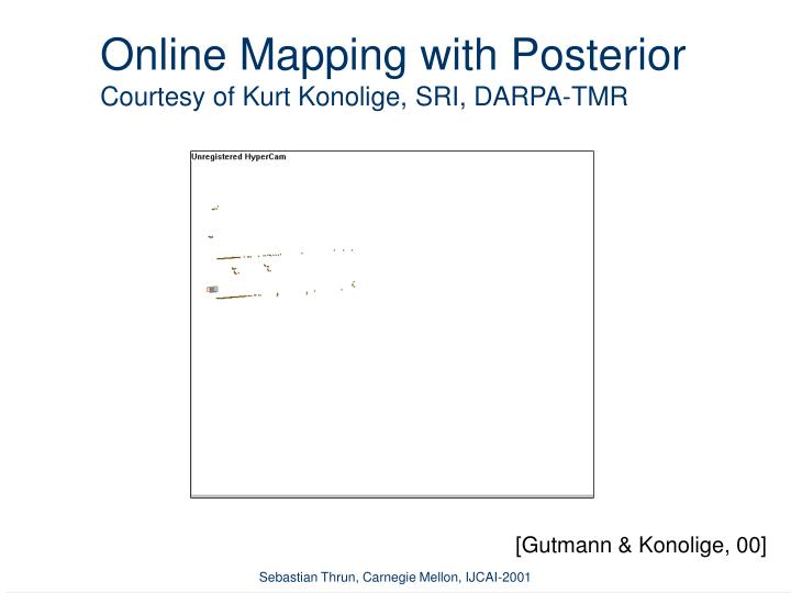 Online Mapping with Posterior