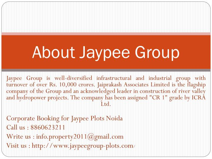 About jaypee group
