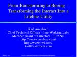 from barnstorming to boeing transforming the internet into a lifeline utility