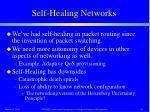 self healing networks