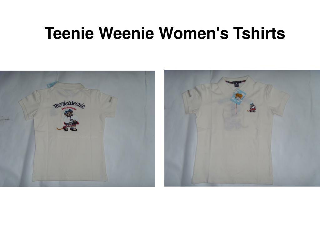 teenie weenie women s tshirts l.