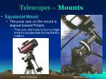 telescopes mounts