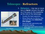 telescopes refractors