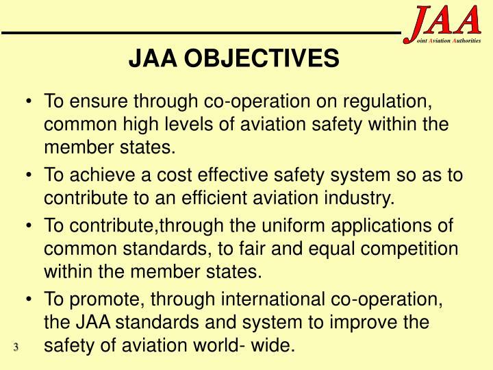 Jaa objectives