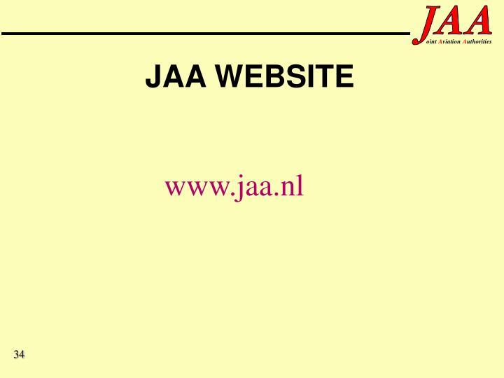 JAA WEBSITE