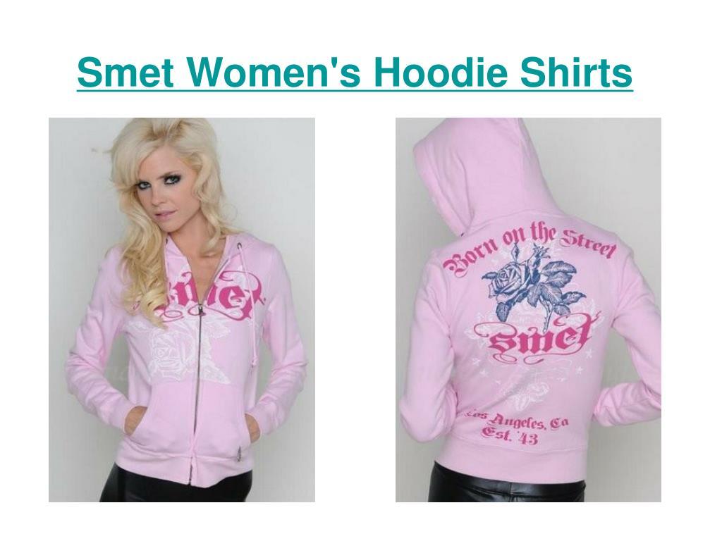 smet women s hoodie shirts l.