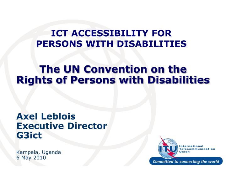 the un convention on the rights of persons with disabilities n.