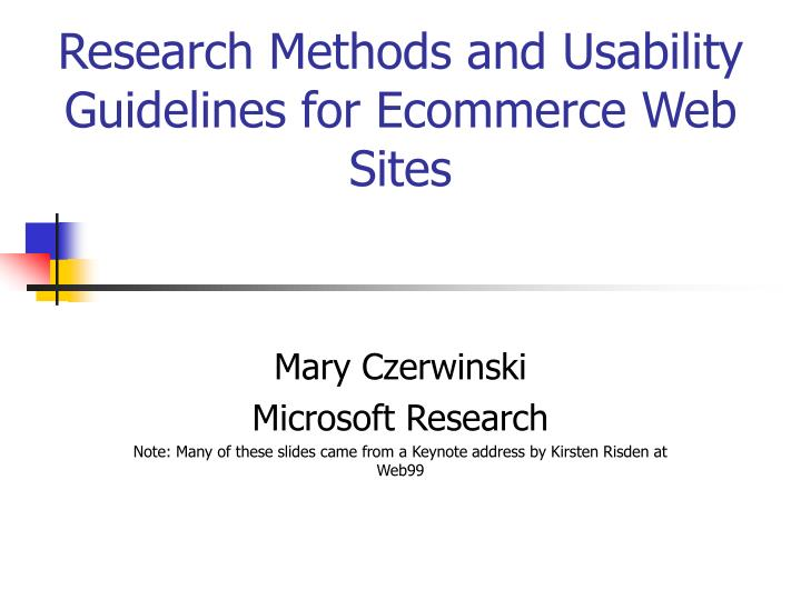 usability evaluation of a web design For example wwwstayintechcom and stayintechcom search the research-based web design & usability guidelines nielsen norman group, research on usability.