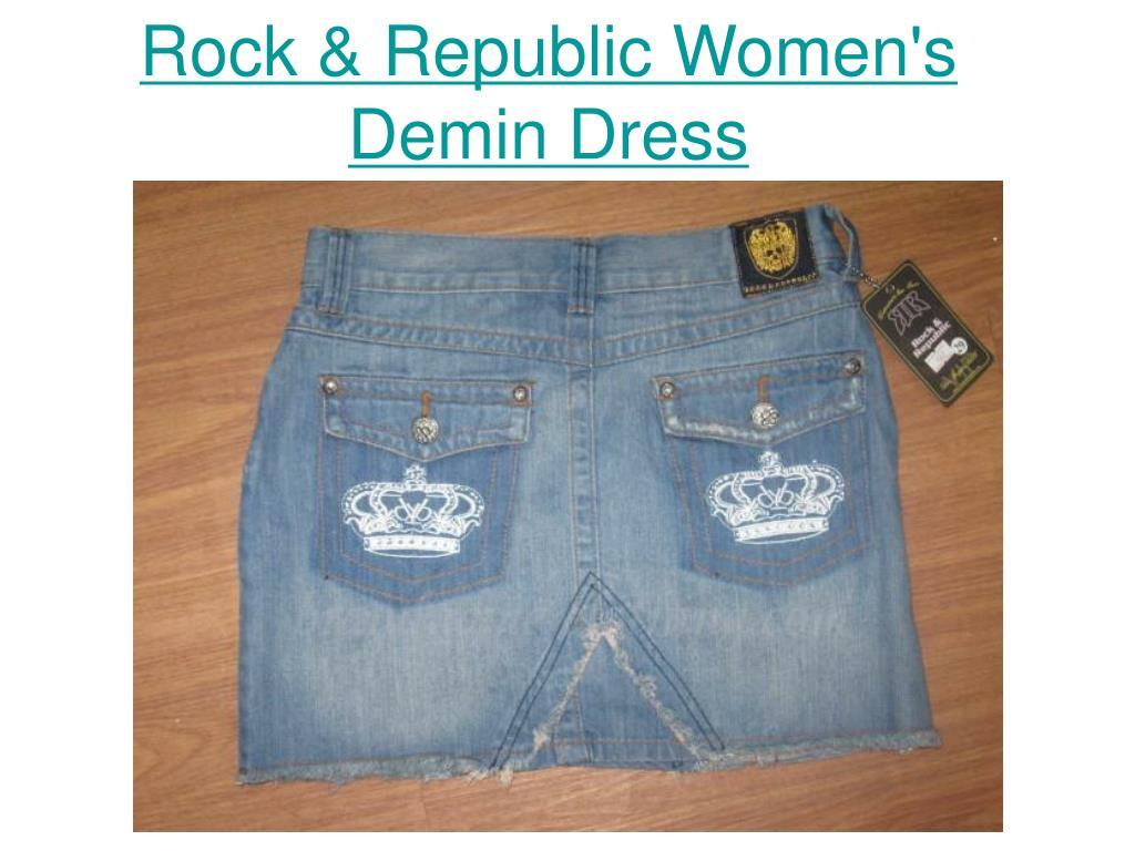 Rock & Republic Women's Demin Dress