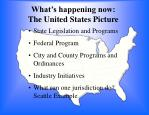 what s happening now the united states picture