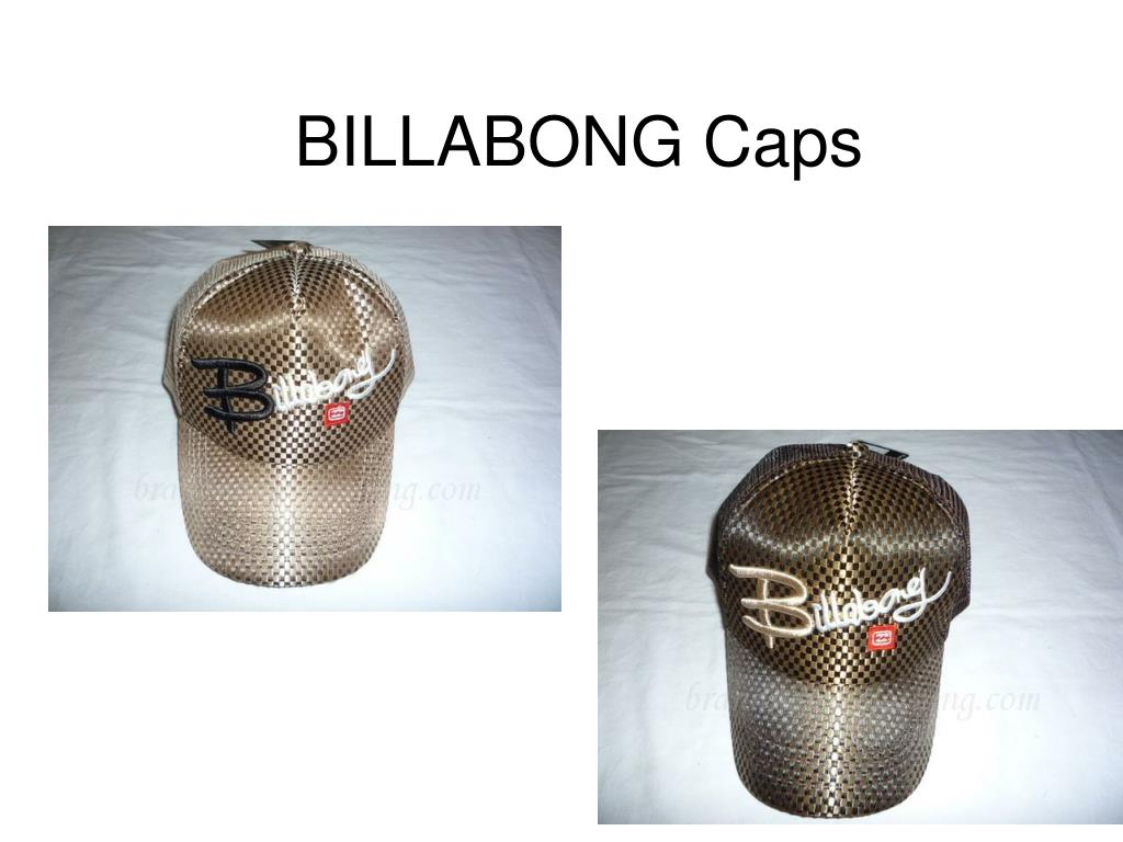billabong caps l.