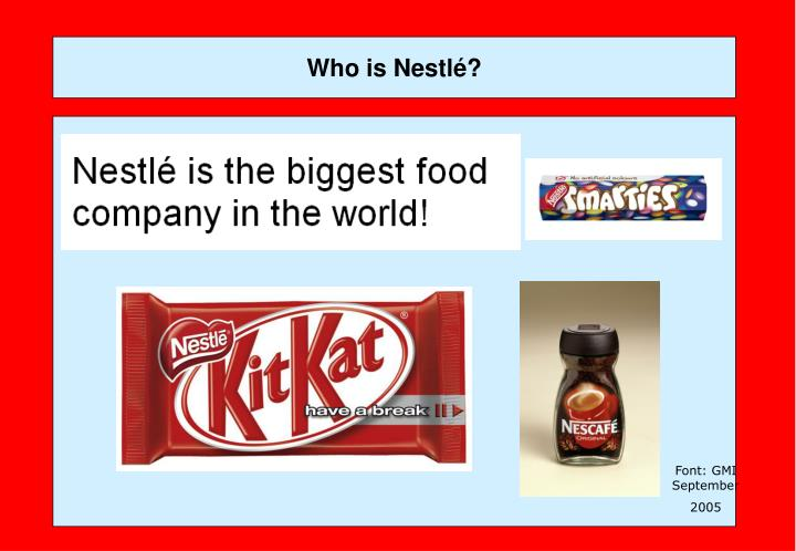 Who is nestl