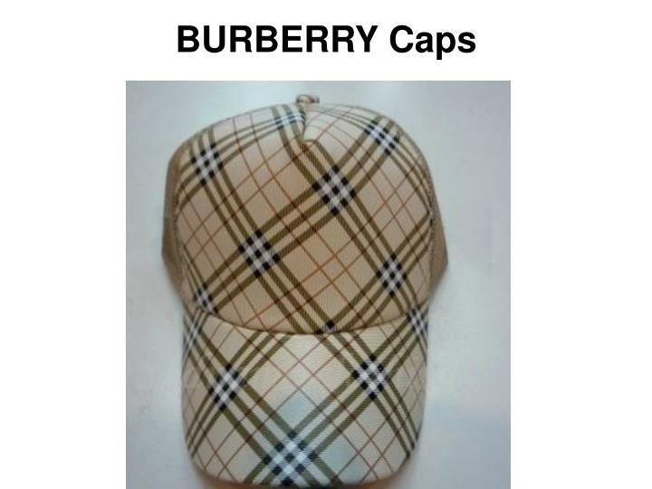 Burberry caps