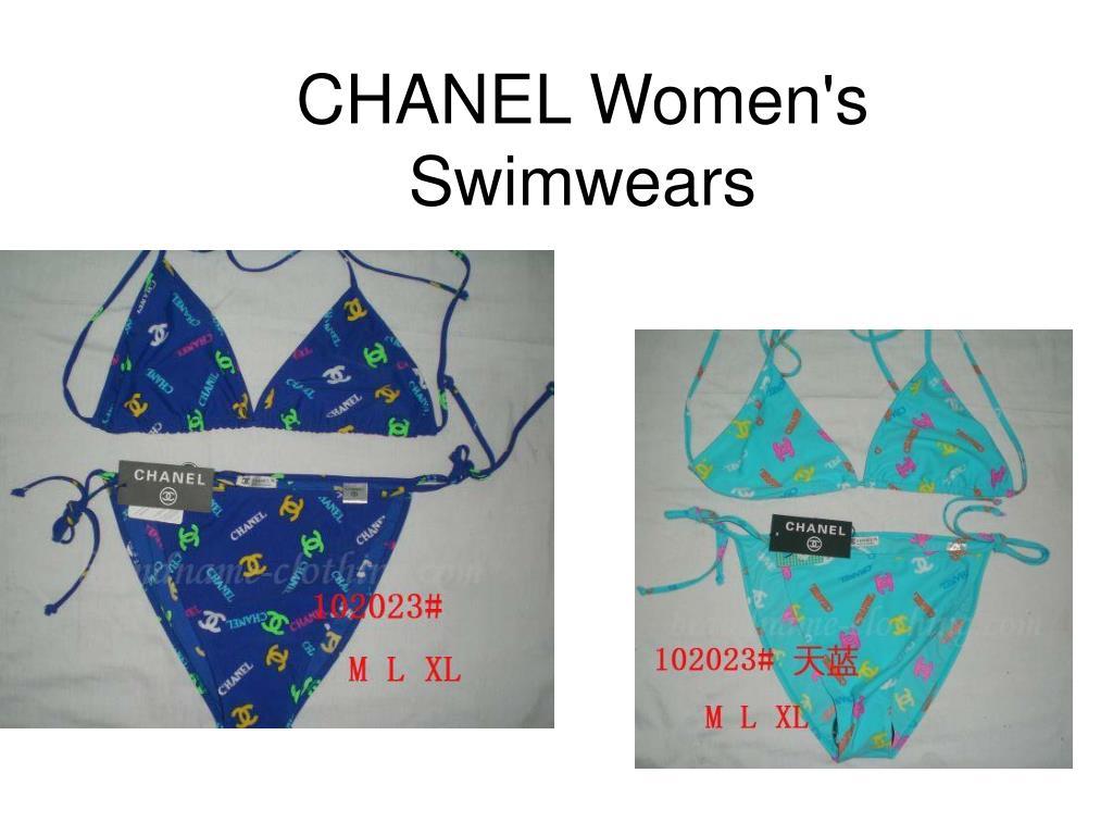 chanel women s swimwears l.