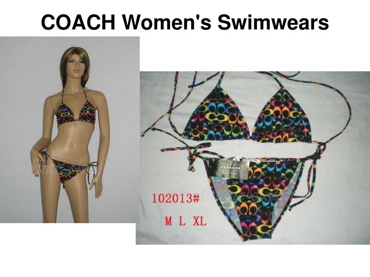 Coach women s swimwears2