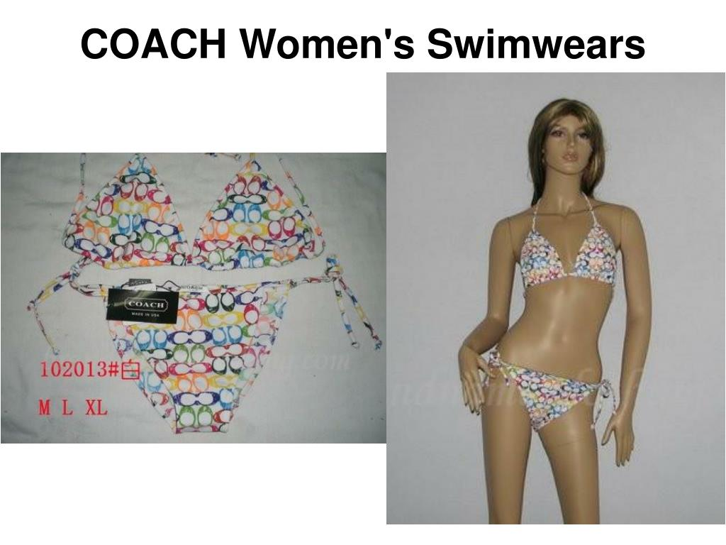 COACH Women's Swimwears