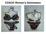 coach women s swimwears4