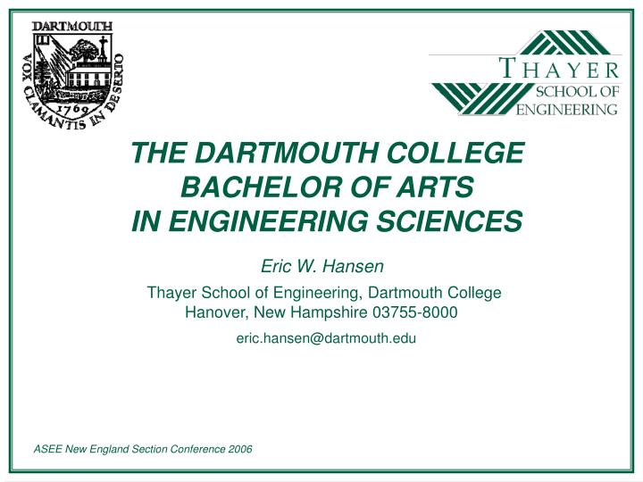 an overview of the engineering science in the ph d program