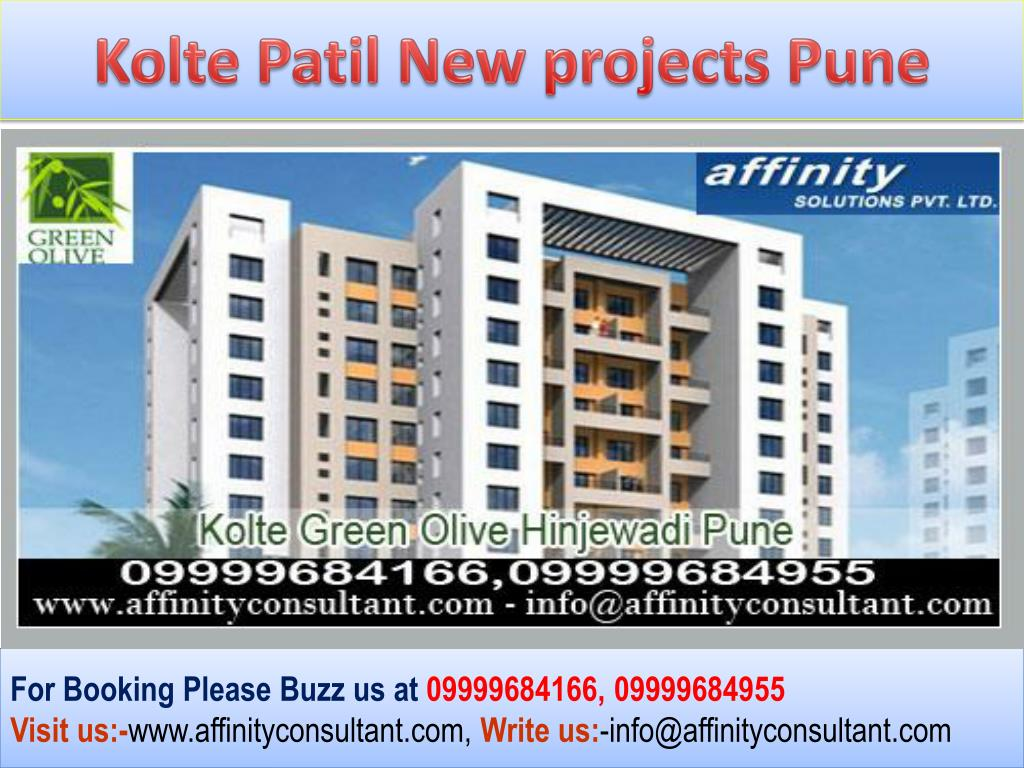 Kolte Patil New projects Pune