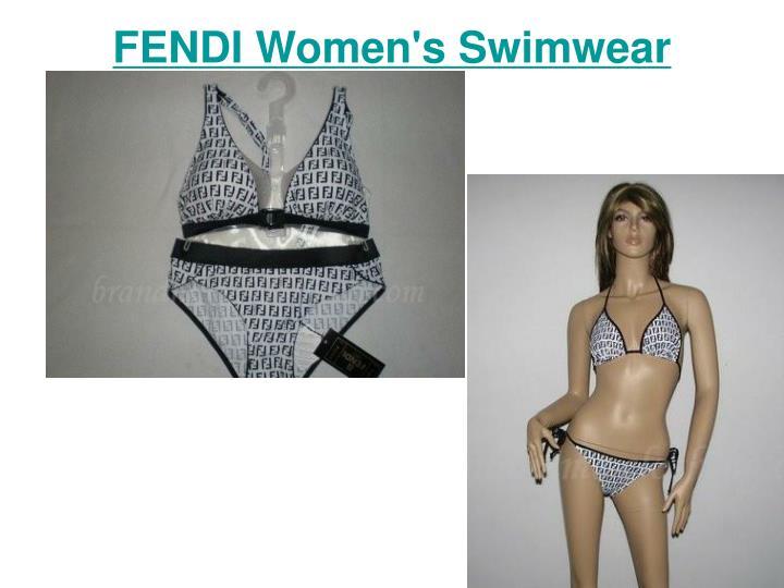 Fendi women s swimwear2