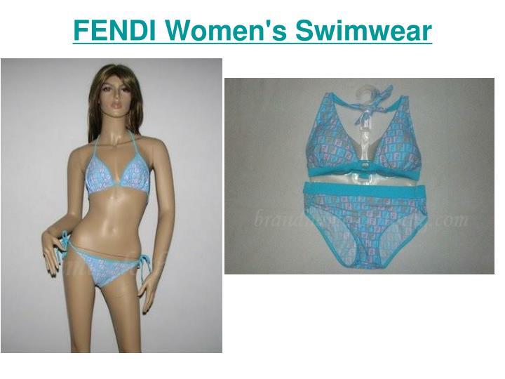 Fendi women s swimwear3