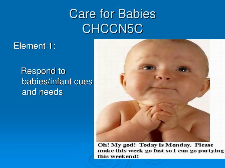 Care for babies chccn5c