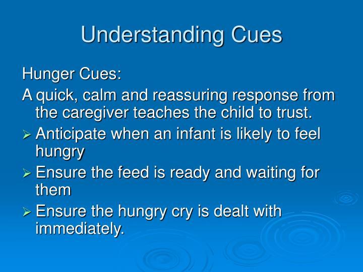 Understanding Cues