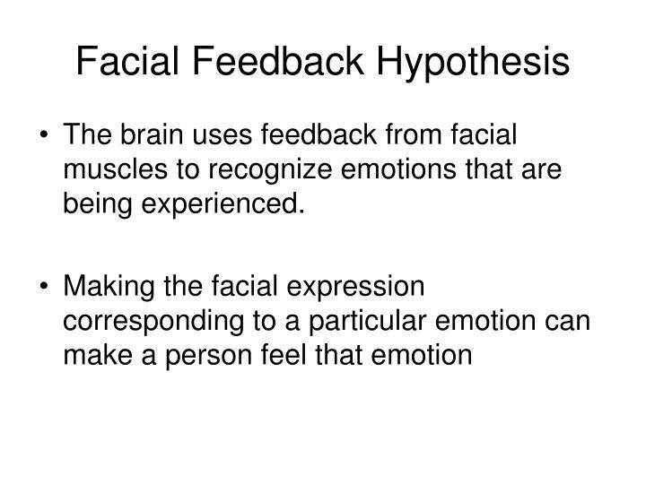 Facial Feedback Hypothesis