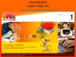 cdi website laman web cdi www creativedreams com my