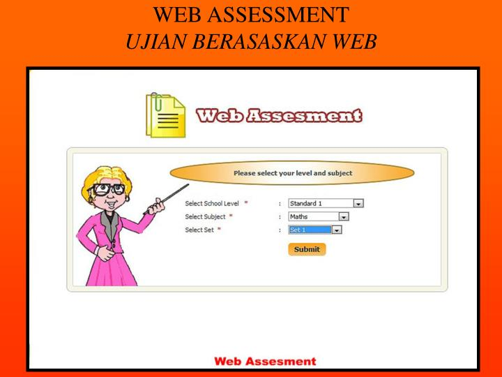 WEB ASSESSMENT