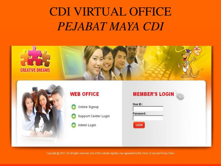 CDI VIRTUAL OFFICE