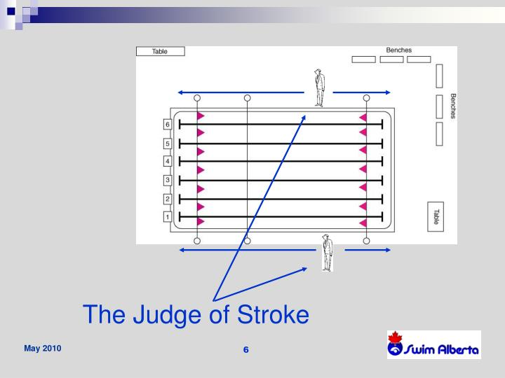 The Judge of Stroke