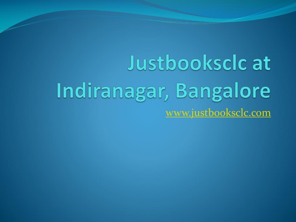 justbooksclc at indiranagar bangalore l.