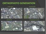 orthophoto generation