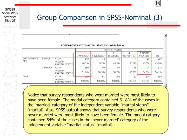 Group Comparison in SPSS-Nominal (3)