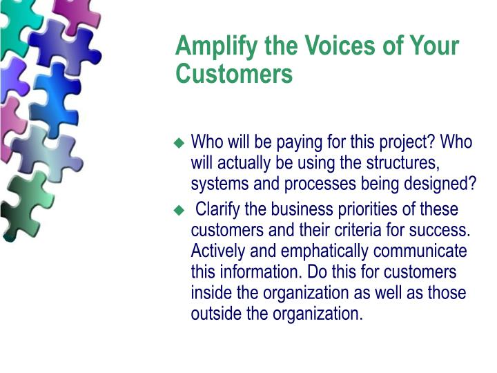 Amplify the Voices of Your Customers