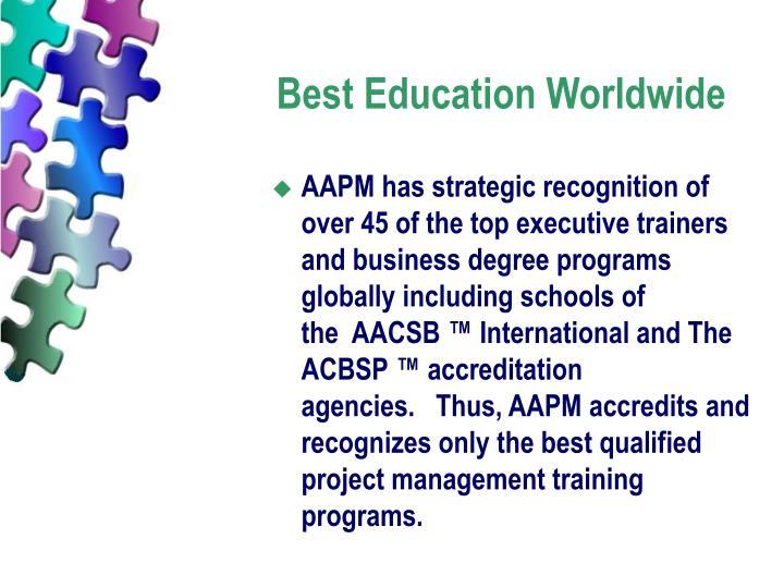 Best Education Worldwide