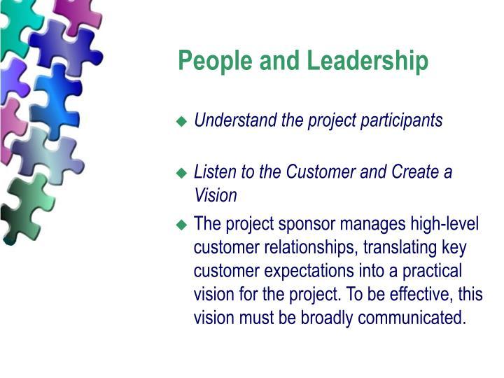 People and Leadership