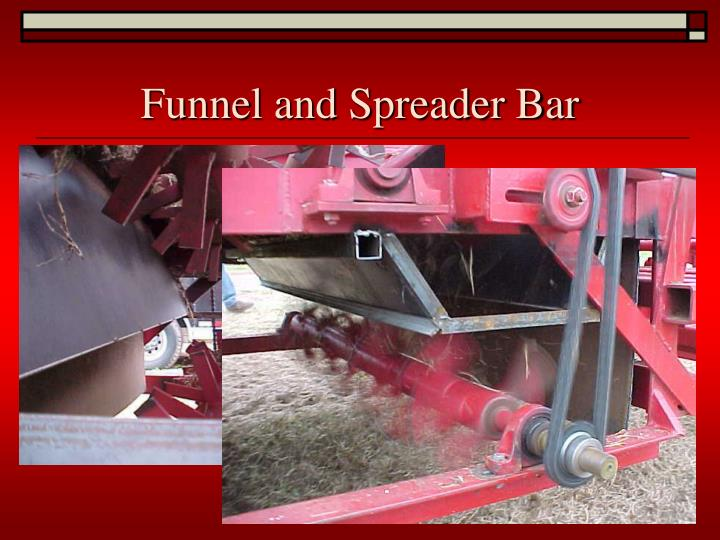 Funnel and Spreader Bar