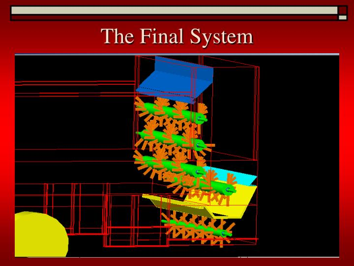 The Final System
