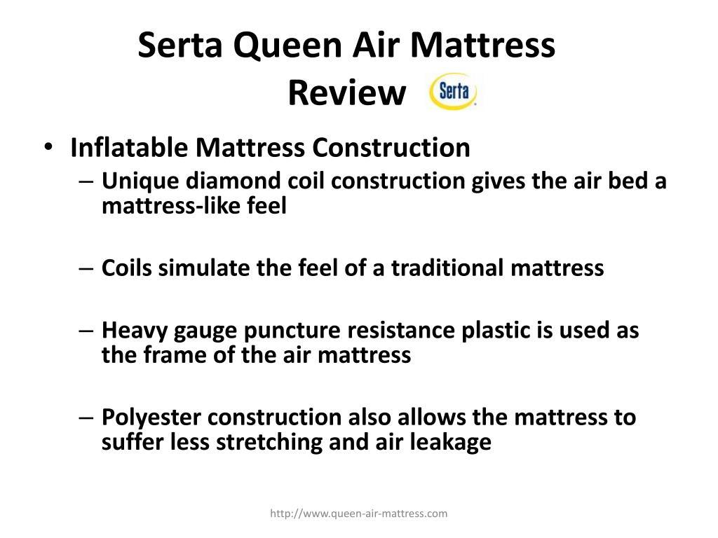 Serta Queen Air Mattress Review